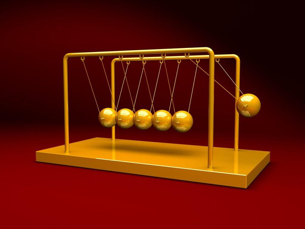 newtons, cradle, physics